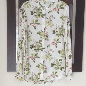 Equipment Tops - Equipment silk Floral Blouse, like new.